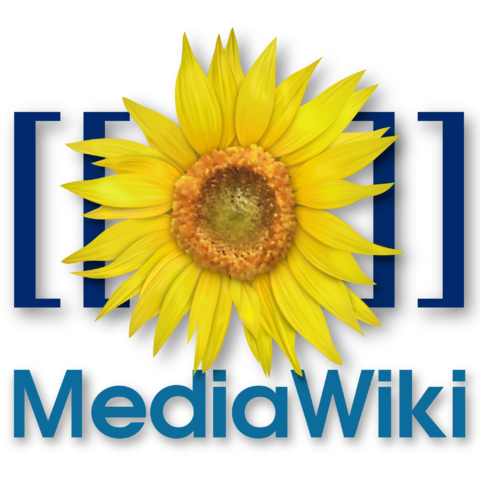 Logo der Software Mediawiki