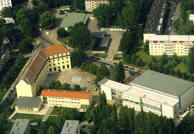 Luftbild Archenhold-Gymnasium